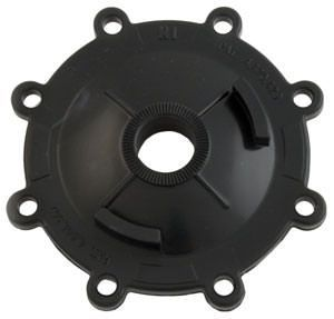 Jandy 2-Port Valve Top Cover - Black CPVC - 4734