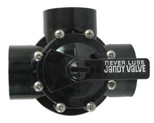 Jandy 3 Way 1.5 Inch x 2 Inch CPVC Diverter Valve 4715