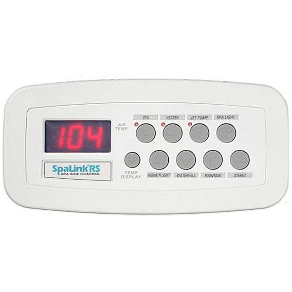 Jandy JDY-30-6456 - Jandy SpaLink 8 Function Spa Remote Remote - 150 ft - White - 7227