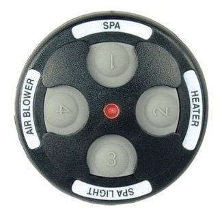 Jandy JDY-30-6436 - Jandy Spa-Side 4 Function Spa Remote - 150 ft - Black - 7444