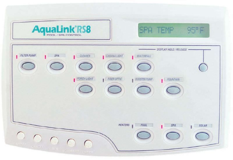 Jandy JDY-30-6393 - Jandy AquaLink RS All Button Control For RS-PS8 - Pool & Spa - 6886