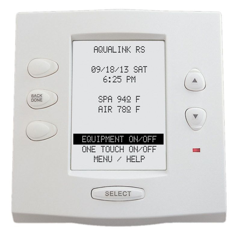 Jandy JDY-30-6496 - Jandy AquaLink RS One Touch Wired Control Panel - 7953