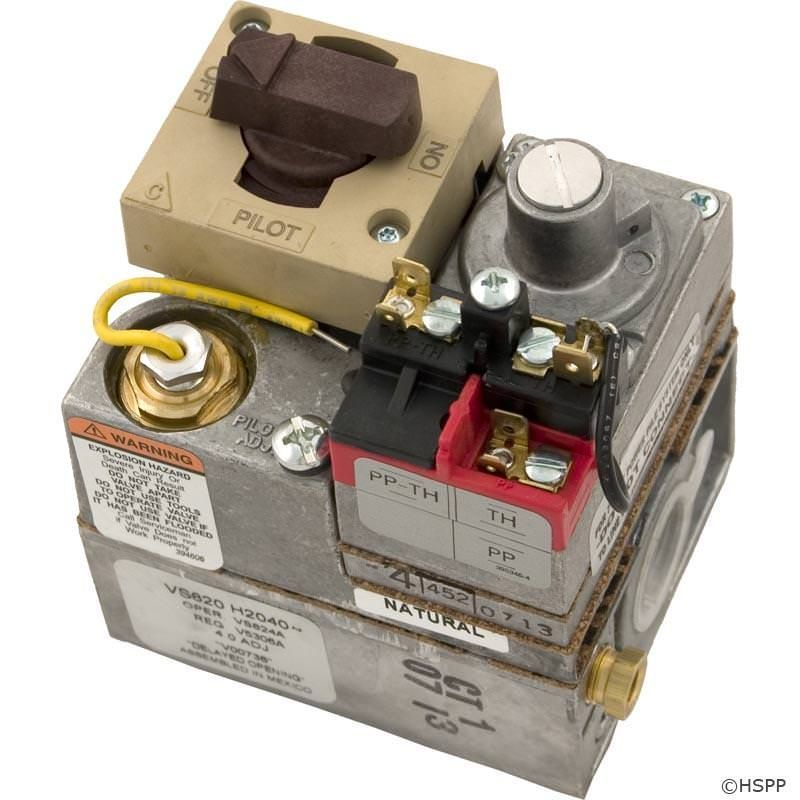Jandy Laars Lite LG Gas Valve - Natural Gas - R0096400