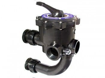 Jandy TLD-06-108 - Jandy Side Mount Multiport Valve for DEL48 & DEL60 DE Filters - A0553645