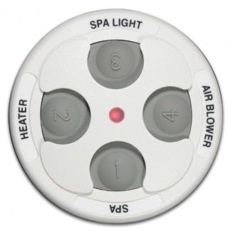 Jandy JDY-30-6434 - Jandy Spa-Side 4 Function Spa Remote - 100 ft - White - 7441