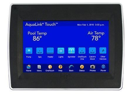 Jandy AquaLink TouchLink Flush Mount Wired Control Panel - TCHLNK-WF