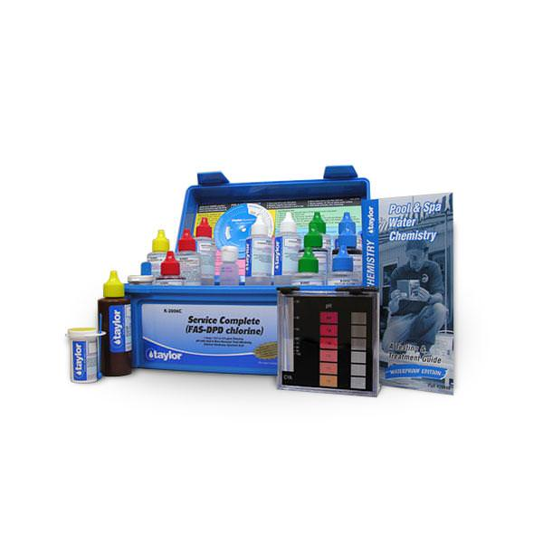 Taylor Complete Service FAS-DPD (Chlorine) Test Kit - K-2006C