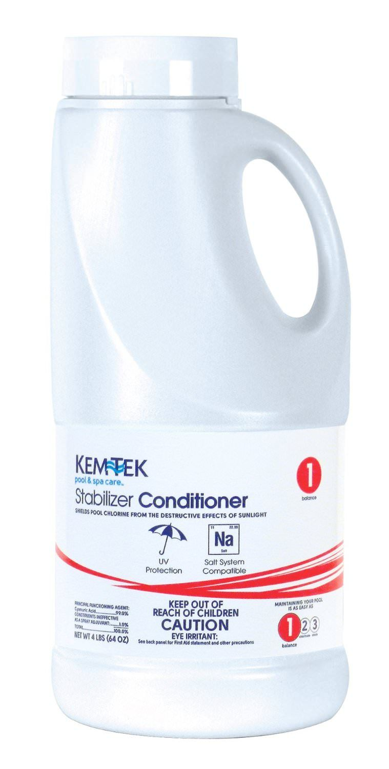 Kem-Tek Pool Stabilizer & Conditioner - 4 lb