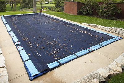 Arctic Armor In Ground Pool Leaf Net 16 ft x 32 ft Rectangle 4 Year Warranty