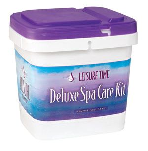 Leisure Time Deluxe Spa Care Kit with Video - Bromine