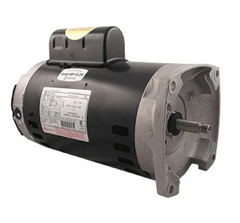 B853 Pool Pump Motor 56Y Frame 1 HP Square Flange 115/230V - Up Rate