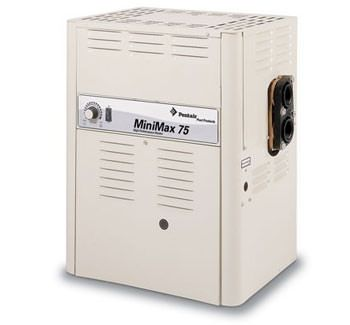 Pentair MiniMax Natural Gas 100K BTU Pool / Spa Heater 460347