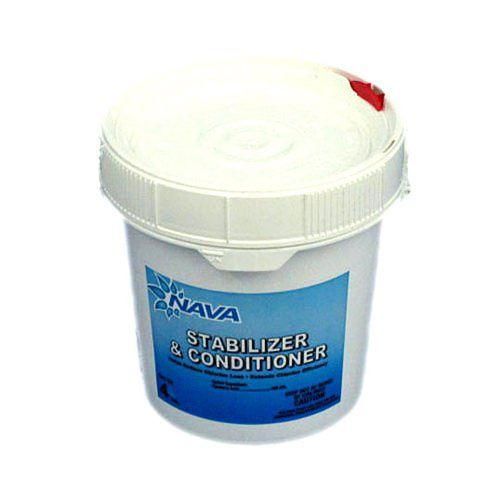 Nava NAV-50-8004 - Nava Pool Stabilizer & Conditioner - 4 lb Bucket