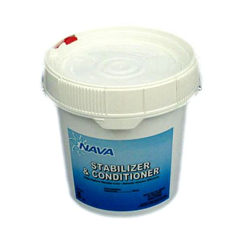 Nava NAV-50-8008 - Nava Pool Stabilizer & Conditioner - 8 lb Bucket