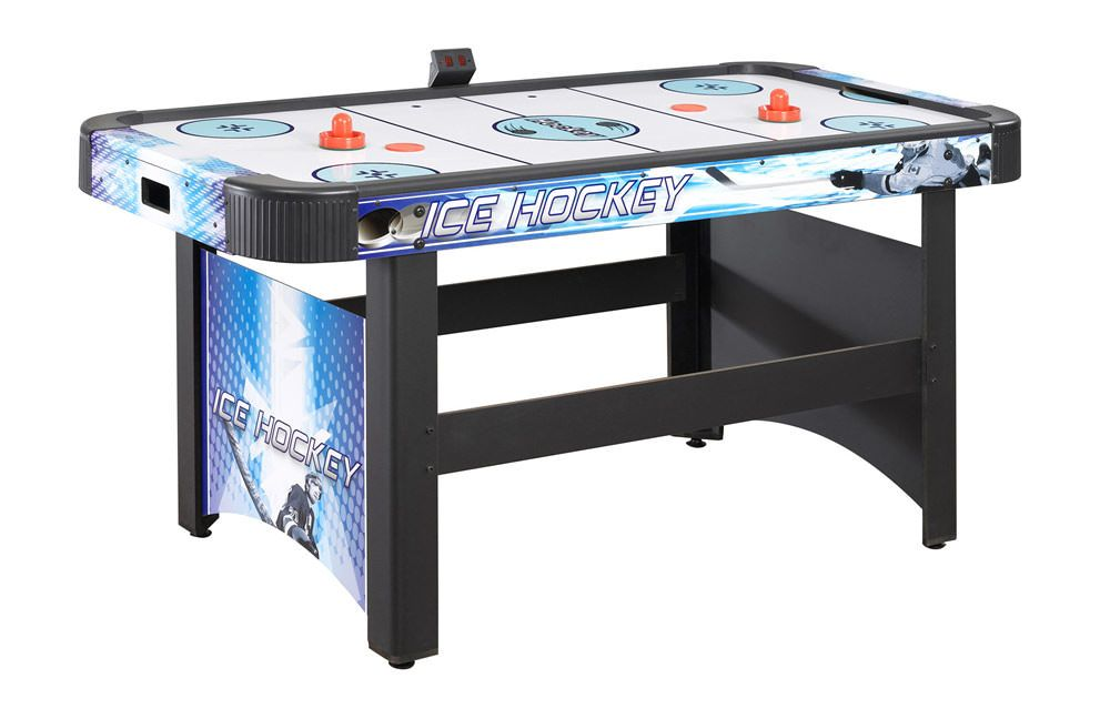 Carmelli NG1009H - Carmelli Face-Off 5-Foot Air Hockey Table with Electronic Scoring
