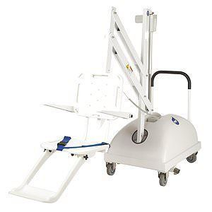 S.R. Smith RMI-42-1033 - S.R. Smith PAL Hi/Lo Portable ADA Pool Lift with Armrests - 250-0005