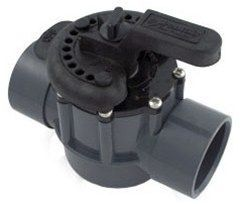 Pentair 2-Way 1.5 Inch x 2 Inch PVC Diverter Valve 263038