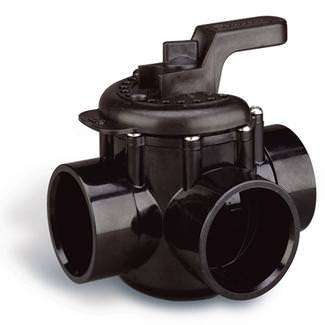 Pentair 3-Way 2 Inch x 2.5 Inch CPVC Diverter Valve 263026