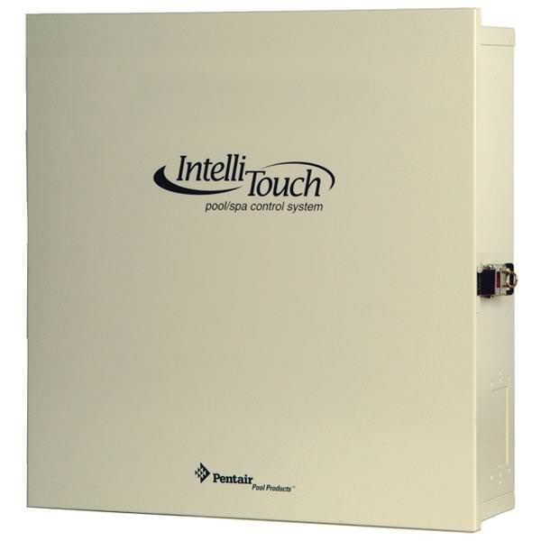 Pentair 521216 IntelliTouch Power Center without IntelliChlor Transformer 115/230V