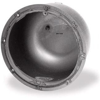 Pentair 78210700 Large Stainless Steel Niche 3/4 Inch Rear Hub - Concrete