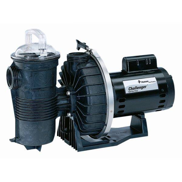 Pentair PAC-10-6693 - Pentair 1 HP Energy Efficient Challenger Pool Pump 345205