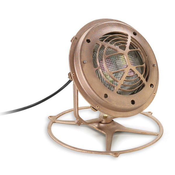 Pentair Fountain Light Fixture Housing - Large - Bronze - with Stand - 560000
