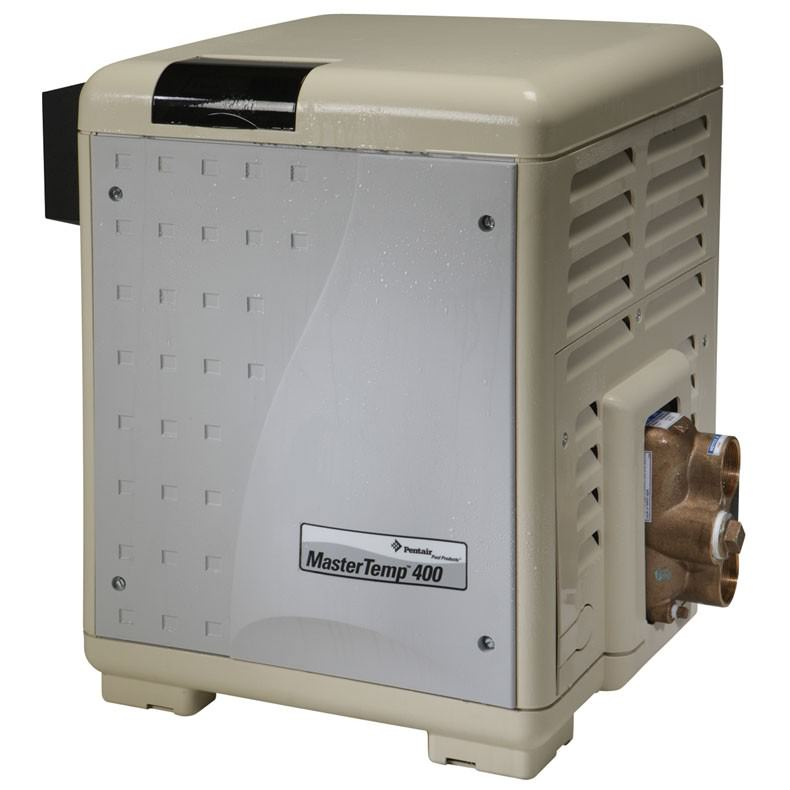 Pentair PUR-15-0775 - Pentair MasterTemp 400K BTU Natural Gas Heater Low Nox ASME 460775