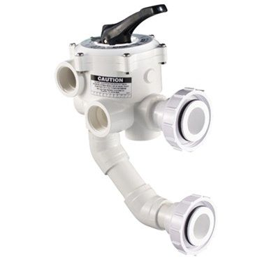 Pentair PAC-06-233 - Pentair Multiport DE Filter Valve 1.5 Inch Threaded - 261177