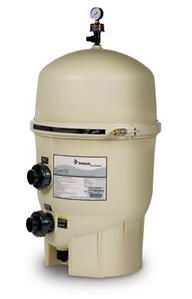 Pentair PAC-05-8593 - Pentair Quad 80 Sq Ft DE Cartridge Pool Filter 188593