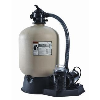 Pentair Sand Dollar Filter System 19 Inch Filter w/ 1 HP Dynamo Pump