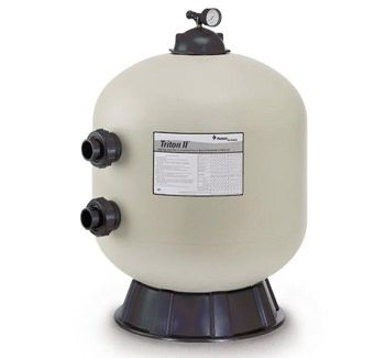 Pentair Triton II Side Mount TR100 In Ground Pool Sand Filter 140210