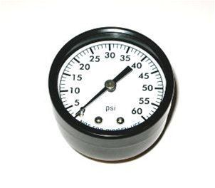 SuperPro SPG-06-1002 - Pool Filter Pressure Gauge 0-60 PSI - Back Mount