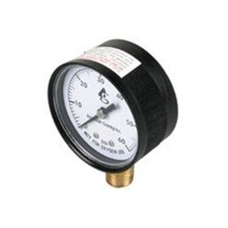 SuperPro SPG-06-1001 - Pool Filter Pressure Gauge 0-60 PSI - Bottom Mount