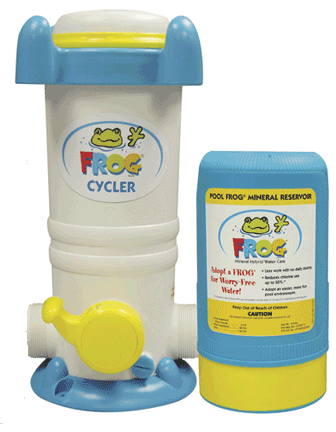 Pool Frog KTC-45-6180 - Pool Frog Above Ground Pool Mineral System 6100