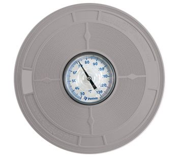 Pentair LET-251-6503 - Sta Rite U-3 Skimmer Cover with Thermometer - Grey