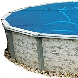 Above Ground Pool Solar Cover 33 Ft Round - 8 mil