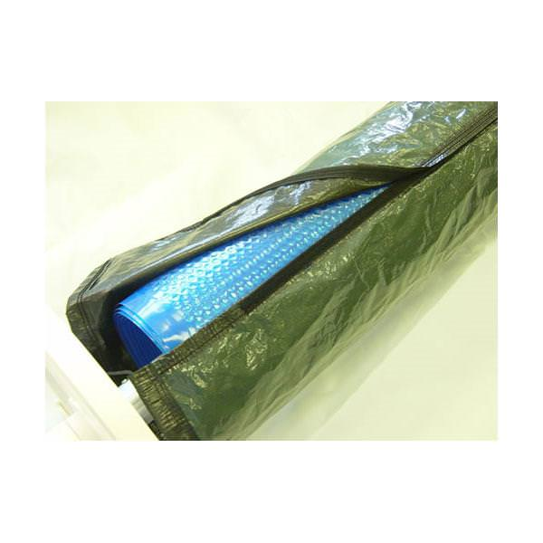 Pool Solar Blanket &amp; Reel Cover - Up To 16 Ft Long