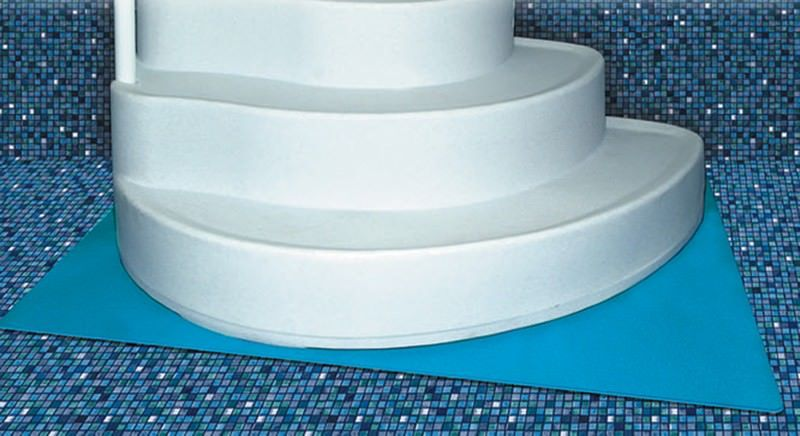 Blue Wave NA402 / HOR-751-1000 - Pool Step Pad 4 ft x 5 ft for Above Ground Pool Steps