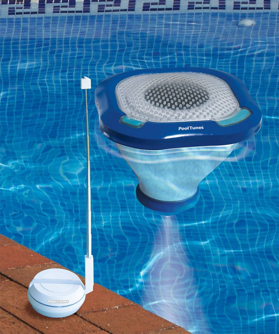 Pool Tunes Wireless Speaker and Pool Light
