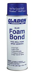 Gladdon NL106 / GAD-801-6169 - Foam Bond Pool Wall Foam Spray Adhesive