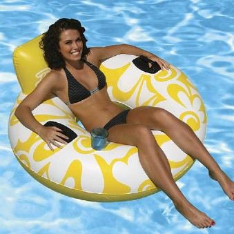 Poolmaster Day Dreamer Pool Lounge - Yellow