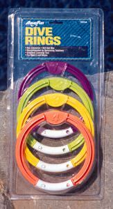 Poolmaster Swimming Pool Dive Rings - 4 Pack - 72711