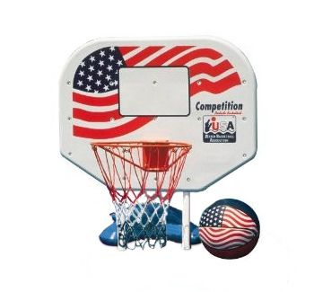 Poolmaster U.S.A. Competition Pro Rebounder Basketball Game