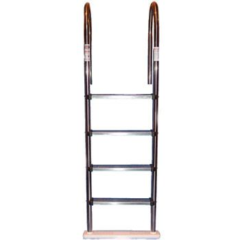 Blue Wave NE1145 - Premium Stainless Steel In-Pool Ladder for Above Ground Pools