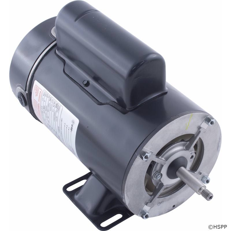 BN50V1 2 Speed Pump Motor 48Y Frame 1.5 HP Thru-Bolt 115V