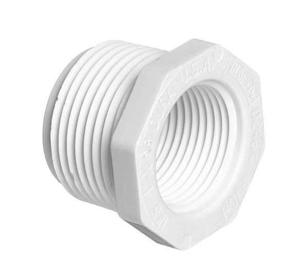 "2"" x 1-5"" PVC Reducer Bushing - Threaded - 439-251"
