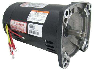 Q3072 Pool Pump Motor 48Y Frame 3/4 HP Square Flange 3-Phase 208-230/460V