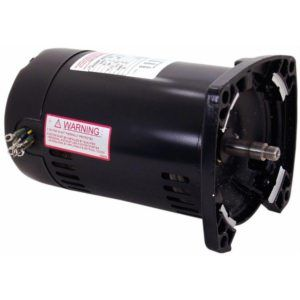 Q3102 Pool Pump Motor 48Y Frame 1 HP Square Flange 3-Phase 208-230/460V