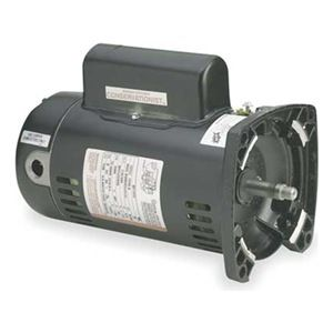 QC1102 1 HP Pool Pump Motor 48Y Frame Square Flange 115/230V - Energy Efficient