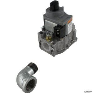 Jandy LX / LT Gas Valve w/Street Elbow - Natural Gas - R0386600